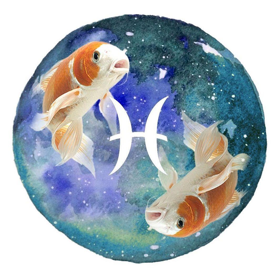 Картинки знаки зодиака рыбы прикольные блестящие