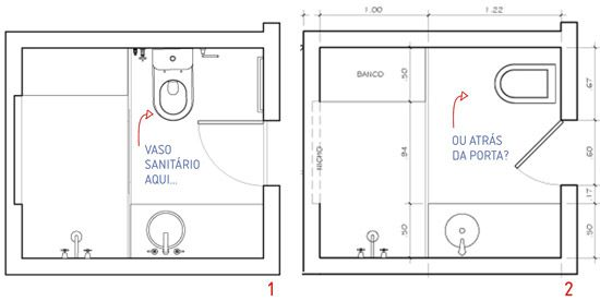 planta para banheiros  Arquitetura  Pinterest  Banheiro pequeno, Banheiros -> Qual Tamanho De Banheiro Com Banheira