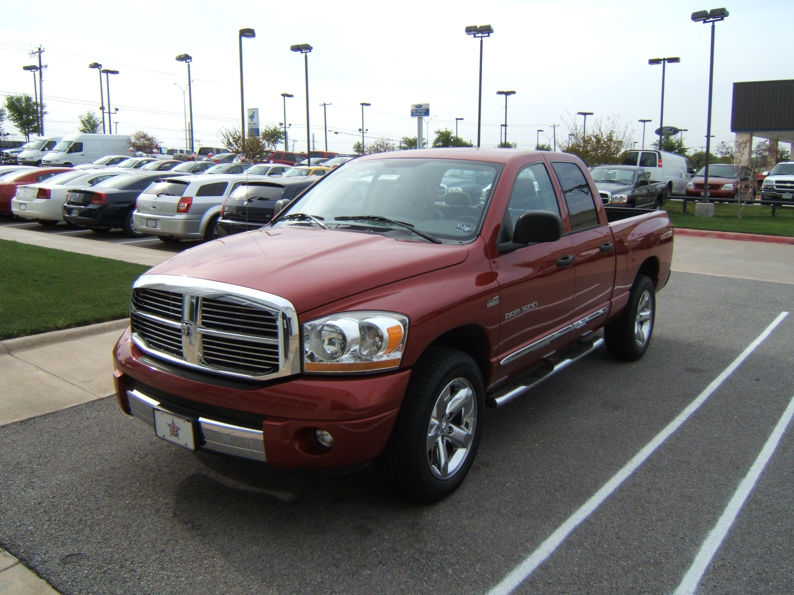 Dodge Ram TRucks red in colour Dodge Trucks Pinterest