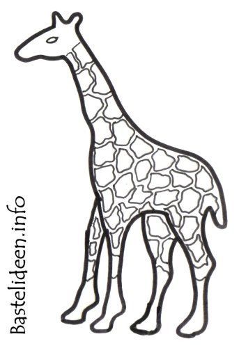 Bastelvorlage Giraffe 1045 Malvorlage Giraffe Ausmalbilder Kostenlos Bastelvorlage Giraffe Zum Ausdrucken