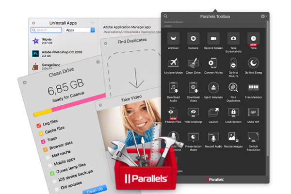 Parallels Toolbox 3 for macOS and Windows released with