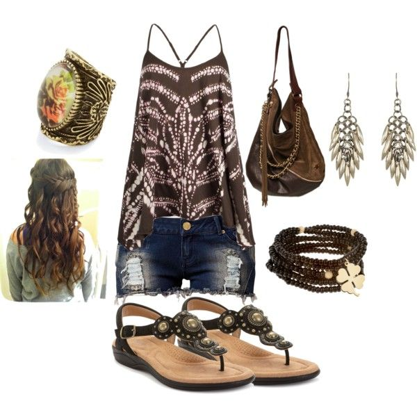 Summer time!, created by sharla-wooten on Polyvore