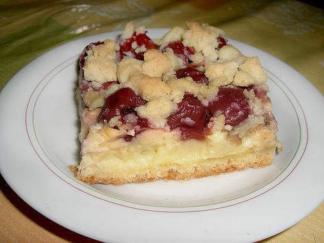 Pudding-Streusel-Kuchen von Stetim | Chefkoch