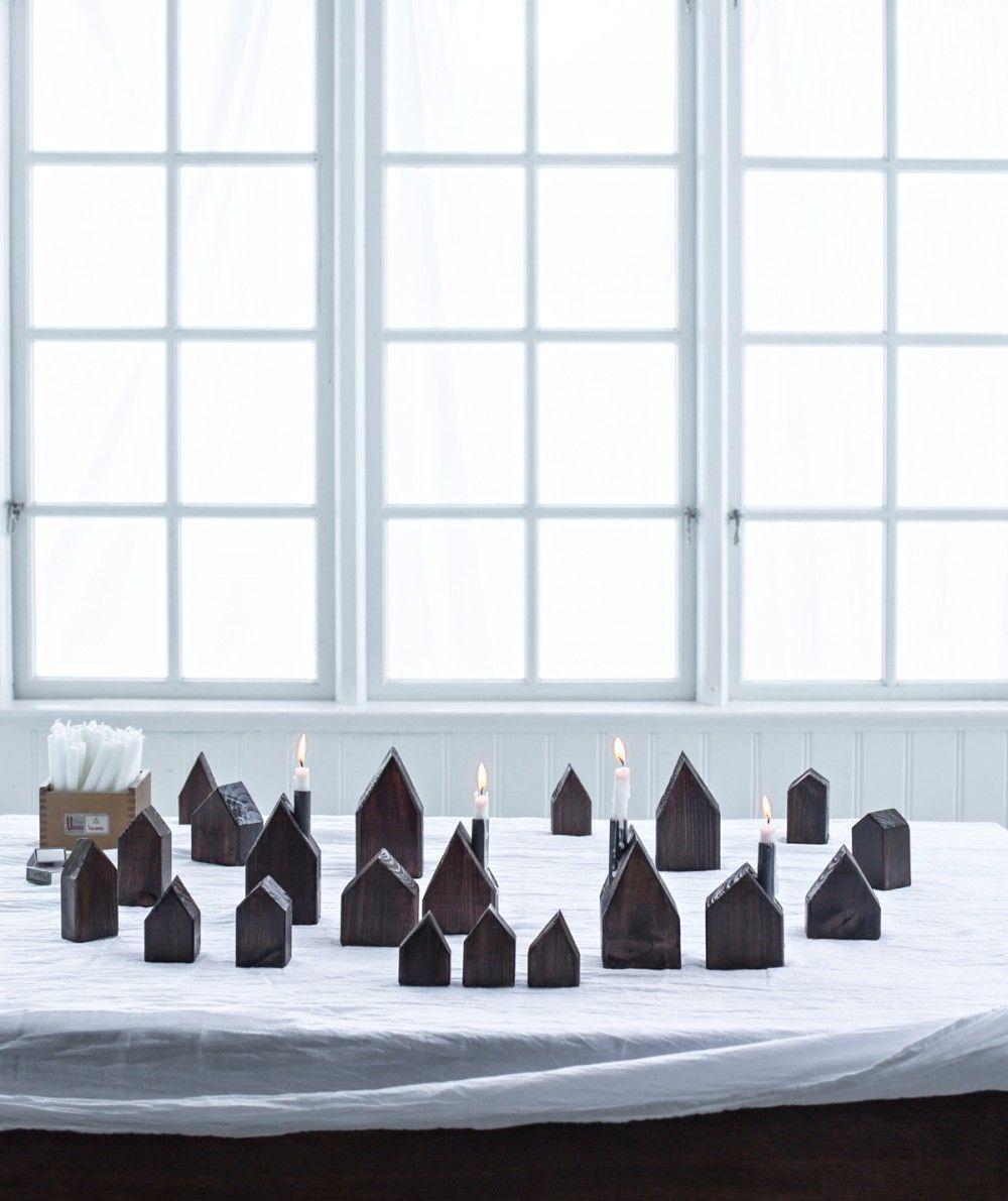 412001000x1191 Små hus, Juldekorationer och Hus