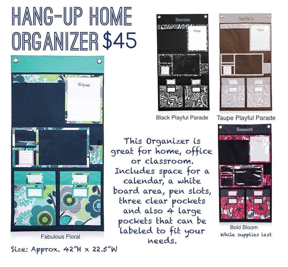 Hang Up Home Organizer Spring/summer 2015