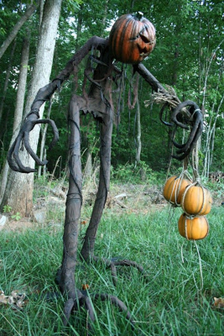 Scary Front Yard Halloween Decoration Ideas 46 - Aladdinslampnet - front yard halloween decorations