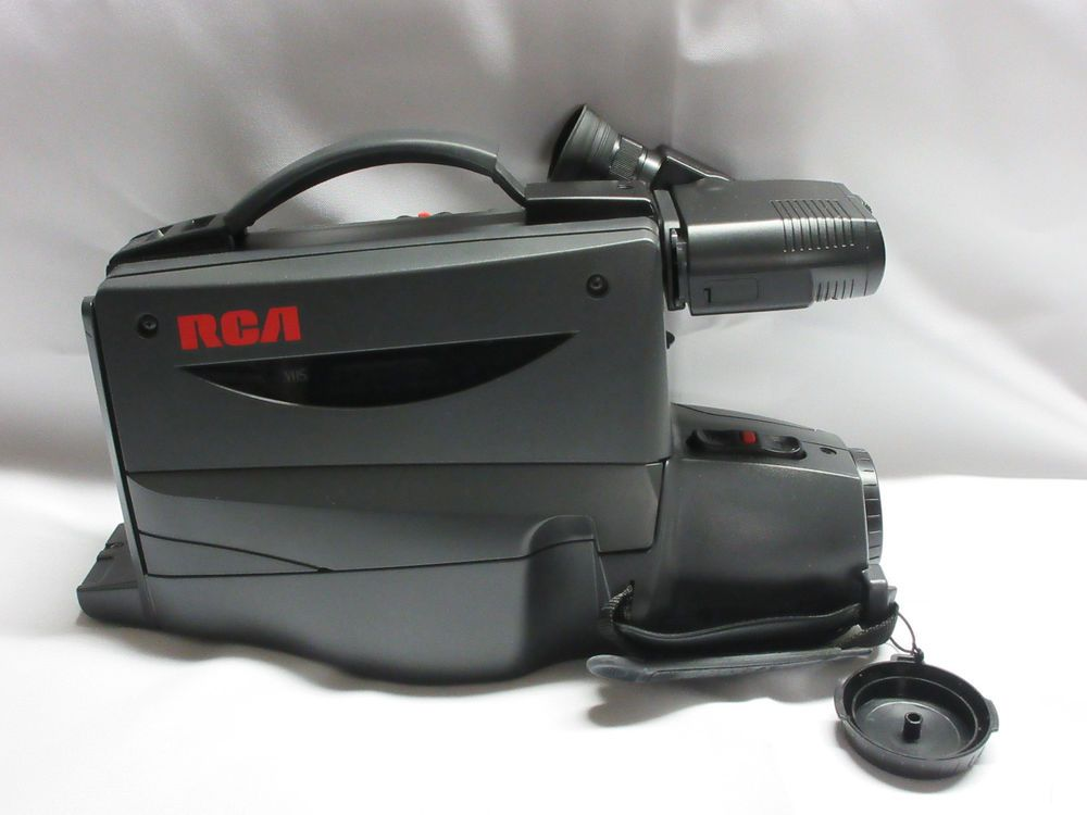 Rca Vhs Camcorder Cc428 Like New Complete With A I A E Pro Edit Macro Focus Rca Camcorder Vhs Rca