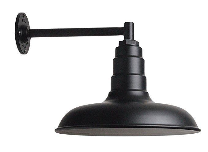 The Classic Barn Light Kit | Matte Black 14 Inch Classic ...
