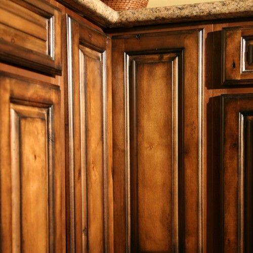 Pecan Maple Glaze Kitchen Cabinets Rustic Finish Sample Door Rta
