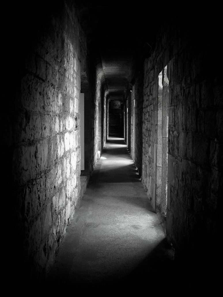 Creepy Pics Creepy Corridor By SamRuiz On DeviantART Dark - Dark creepy basement