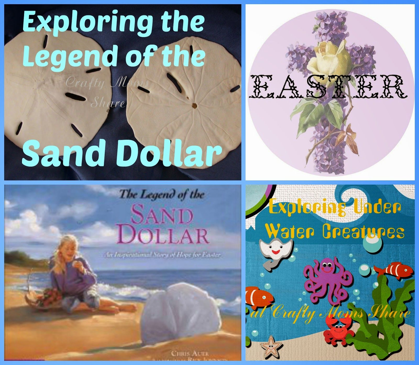 Legend Of The Sand Dollar For Easter