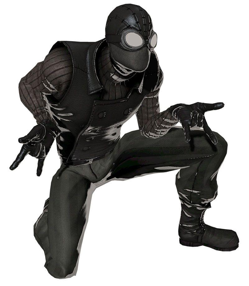 spider man noir peter parkers closet pinterest. Black Bedroom Furniture Sets. Home Design Ideas