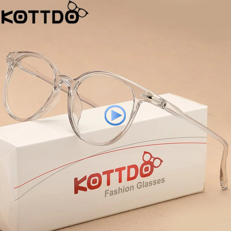 Kottdo Transparent Glasses Optical Glasses Frames For
