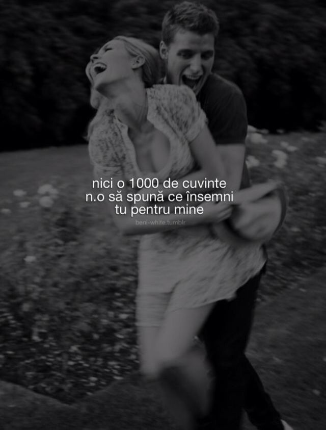 tu pentru mine dating)