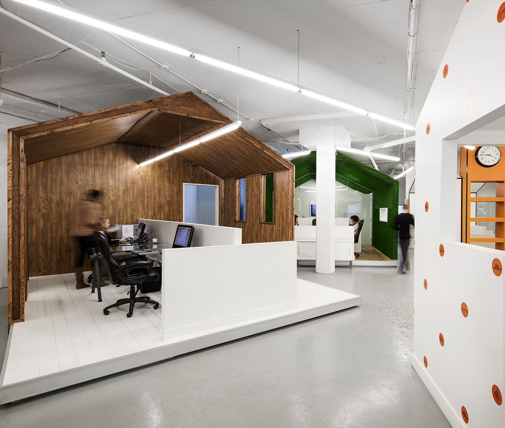 Interior Design Office Montreal: Village People: BICOM Offices By Jean De Lessard, Montreal