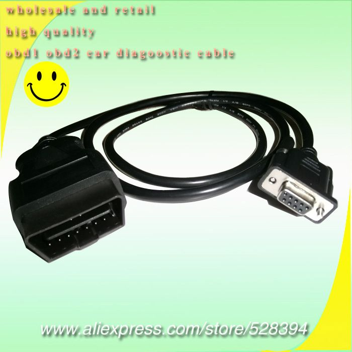 Nice Universal Obd2 16pin To Db9 Rs232 Adapter Cable Car Auto Diagnostic Interface Back To Search Resultsautomobiles & Motorcycles Car Diagnostic Cables & Connectors