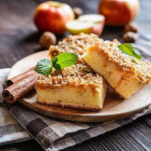 Saftiger Low Carb Apfel Zimt Streuselkuchen Rezept Ohne Zucker Rezepte Streuselkuchen Rezept Streusel Kuchen