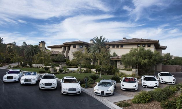 A Glimpse At Floyd Mayweather S Car Collection With Images