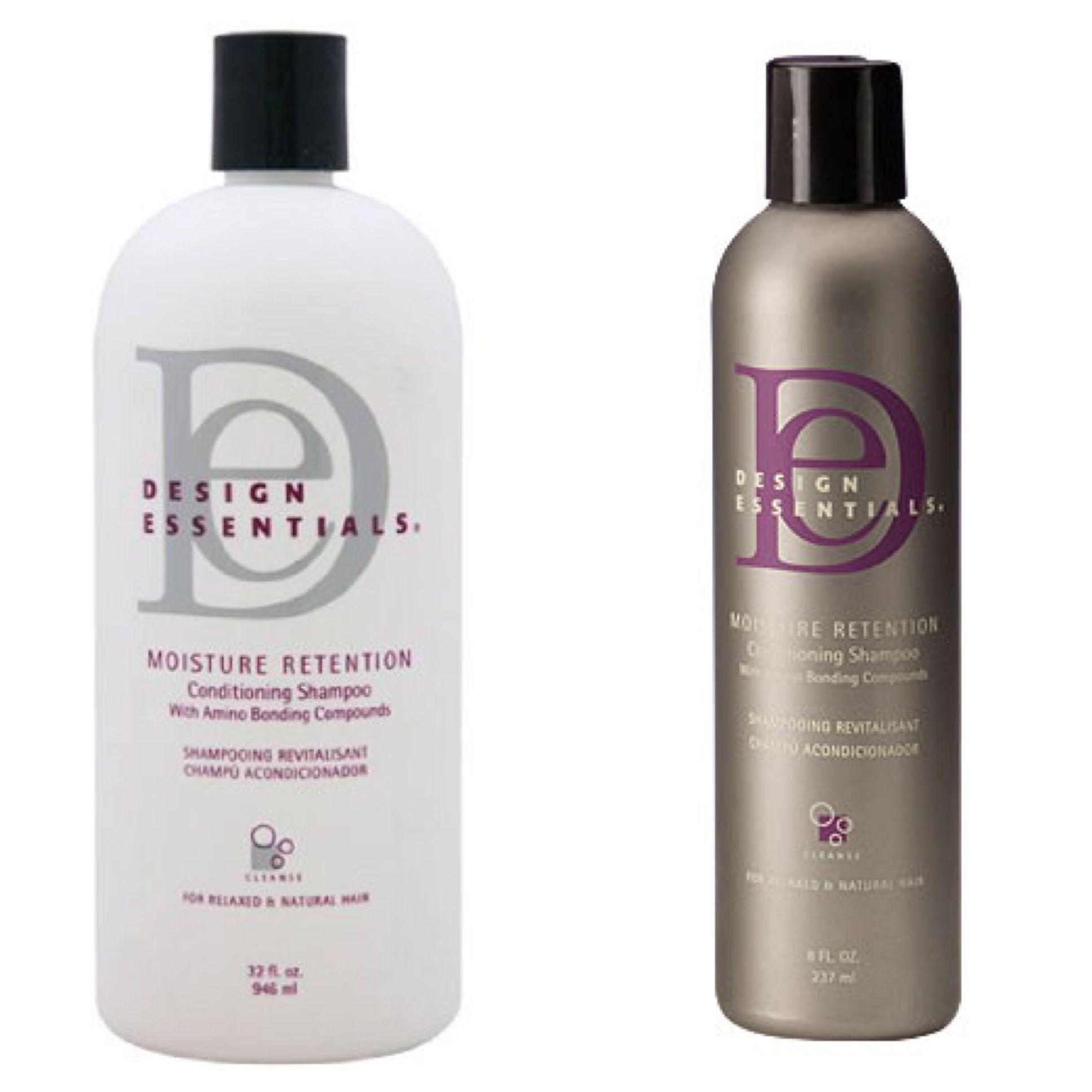 Design Essentials Moisture Retention Shampoo And Stimulations Conditioner Design Essentials Hair Products Conditioning Shampoo Design Essentials