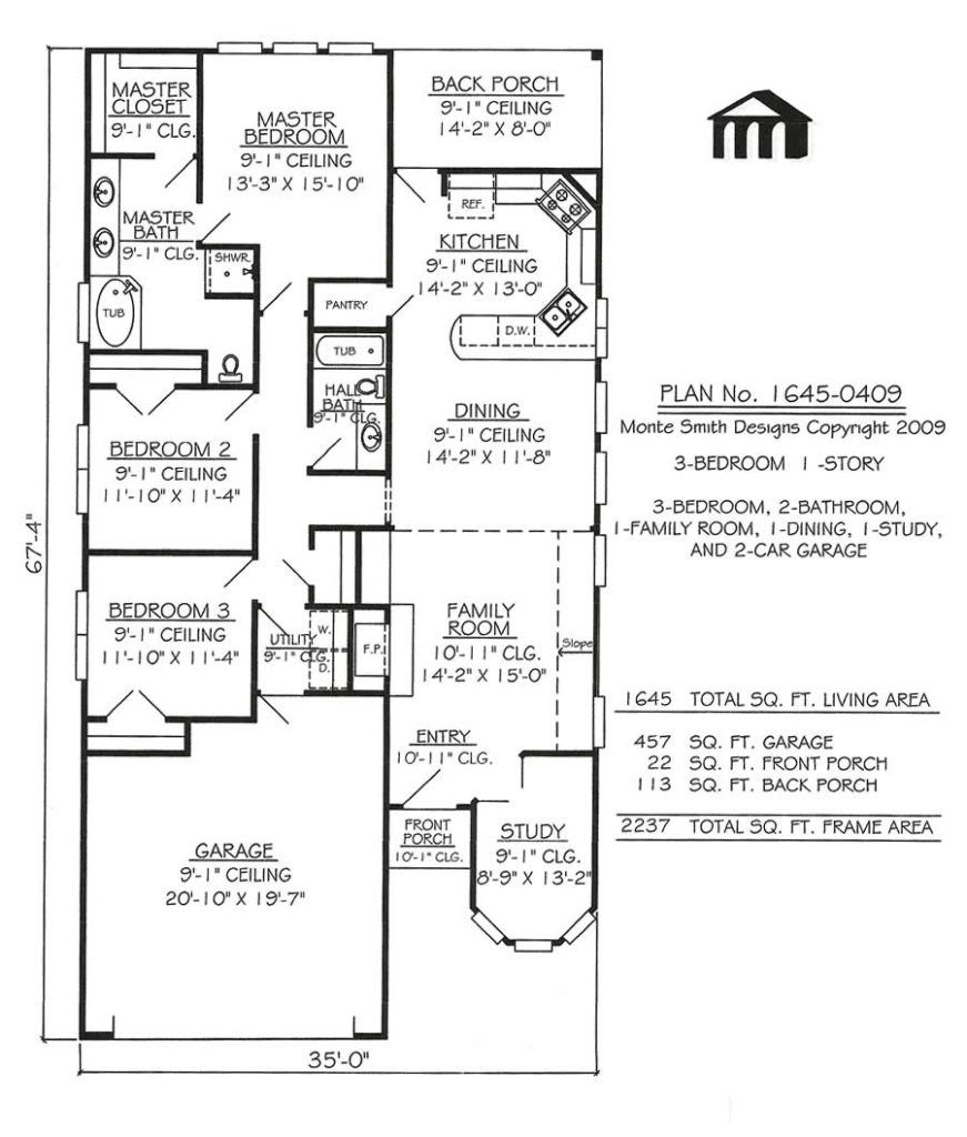 Small bedroom story house plans dream home pinterest story