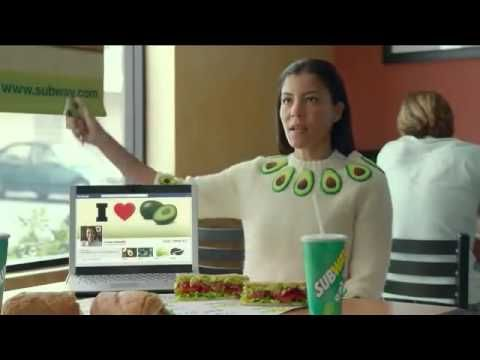 Who is the girl in the subway avocado commercial #1