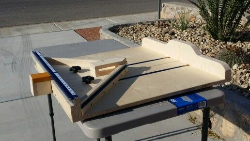Table Saw Sled Design