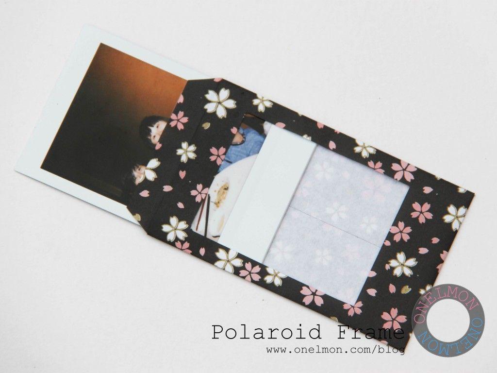 Polaroid Frame Polaroid Frame Polaroid Diy Poloroid Frame