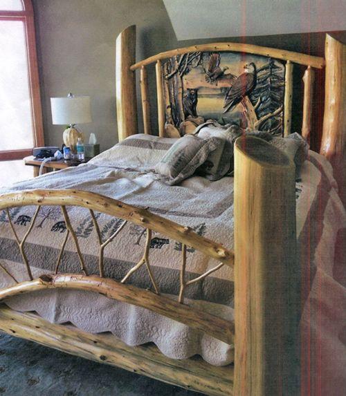 The Refuge Lifestyle Product Categories Beds Log Cabin Bedroom Furniture Rustic Bedroom Furniture Rustic Bedding