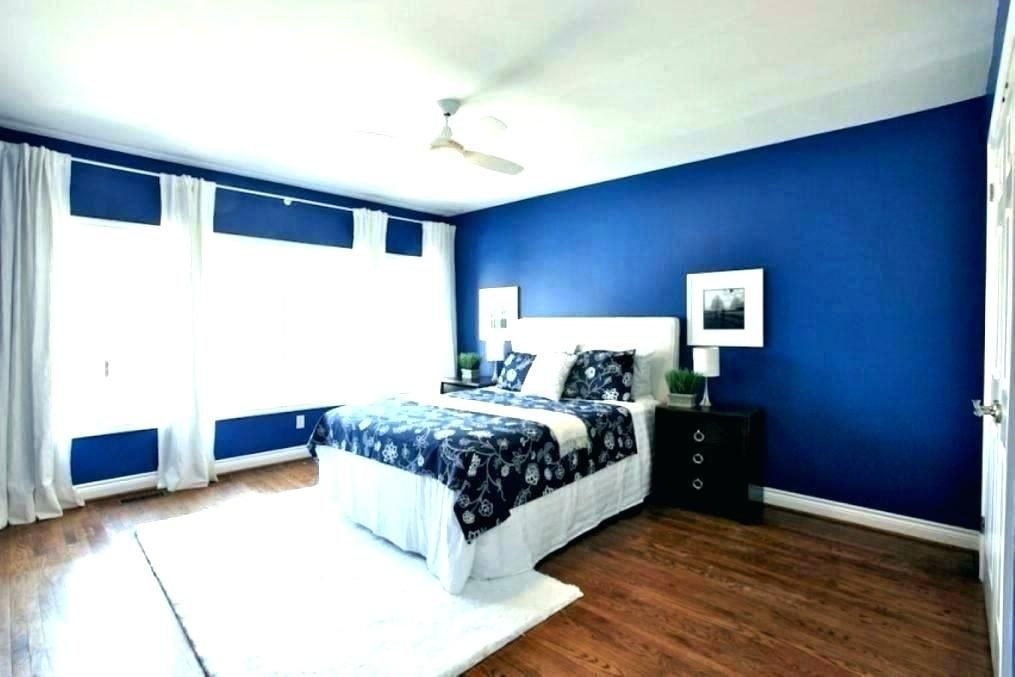 Royal Blue For The Dining Room Accent Wall Blue Bedroom Walls