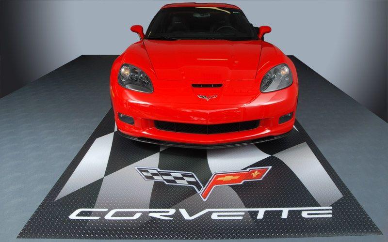 Storeitwell Com Corvette Garage Pad Garage Floor Mats Garage Floor Garage Workshop