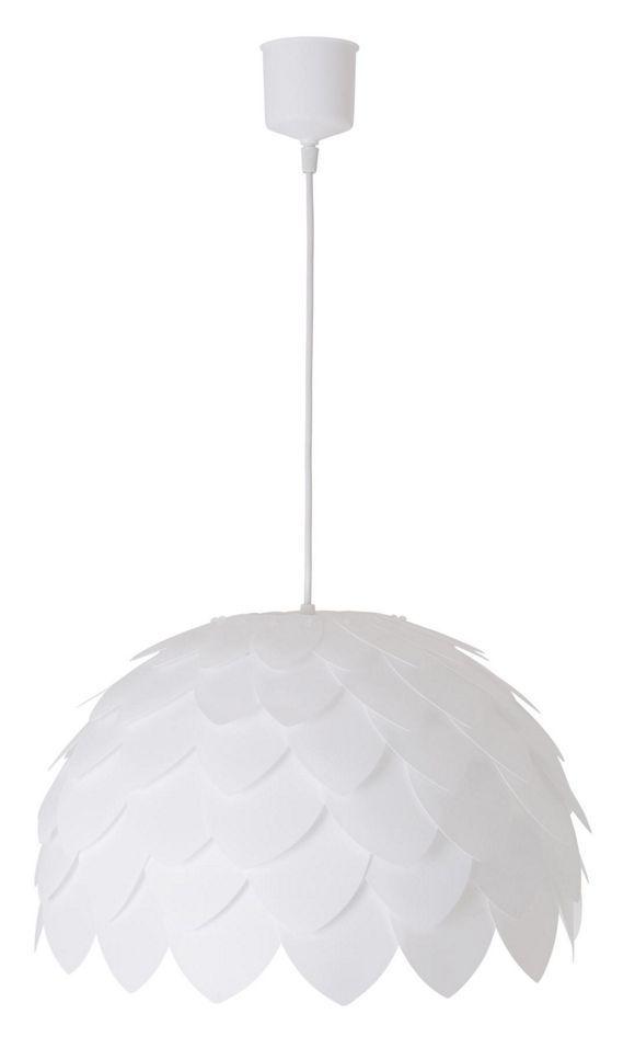 HÄNGELEUCHTE in Kunststoff Weiß - Hängeleuchten - Licht - Produkte