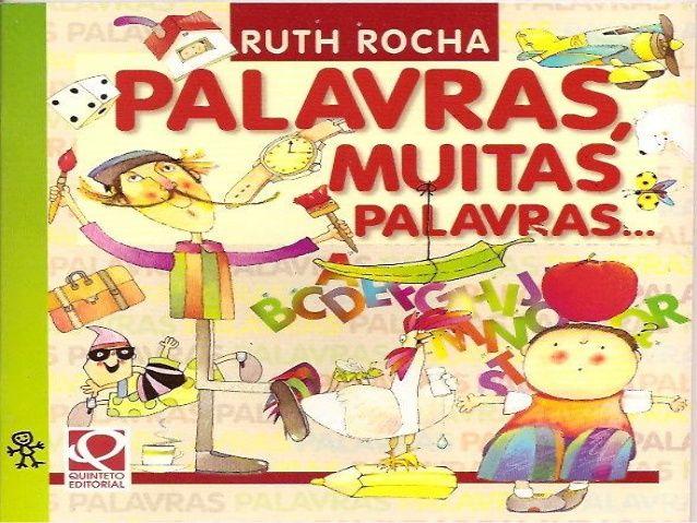 Palavras Muitas Palavras De Ruth Rocha Livros De Historias