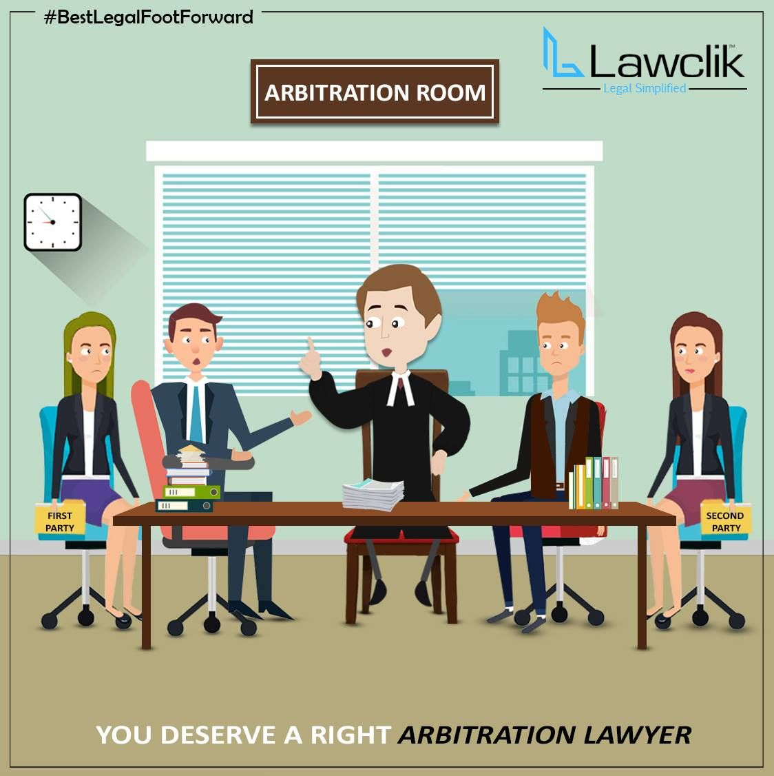 You Deserve A Right Arbitration Lawyer Lawclik Covers All Your