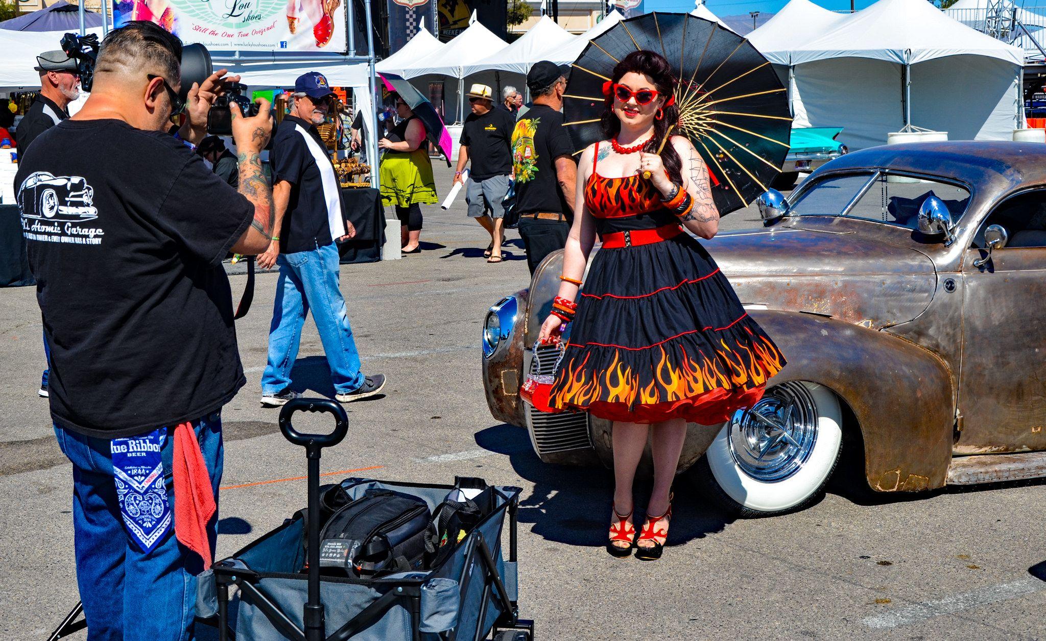 Viva Las Vegas Rockabilly Hot Rodder Car Show TDelCoro Plane - Rockabilly car show las vegas 2018