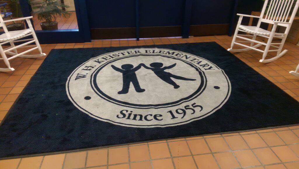 Logo Floor Mats For Schools