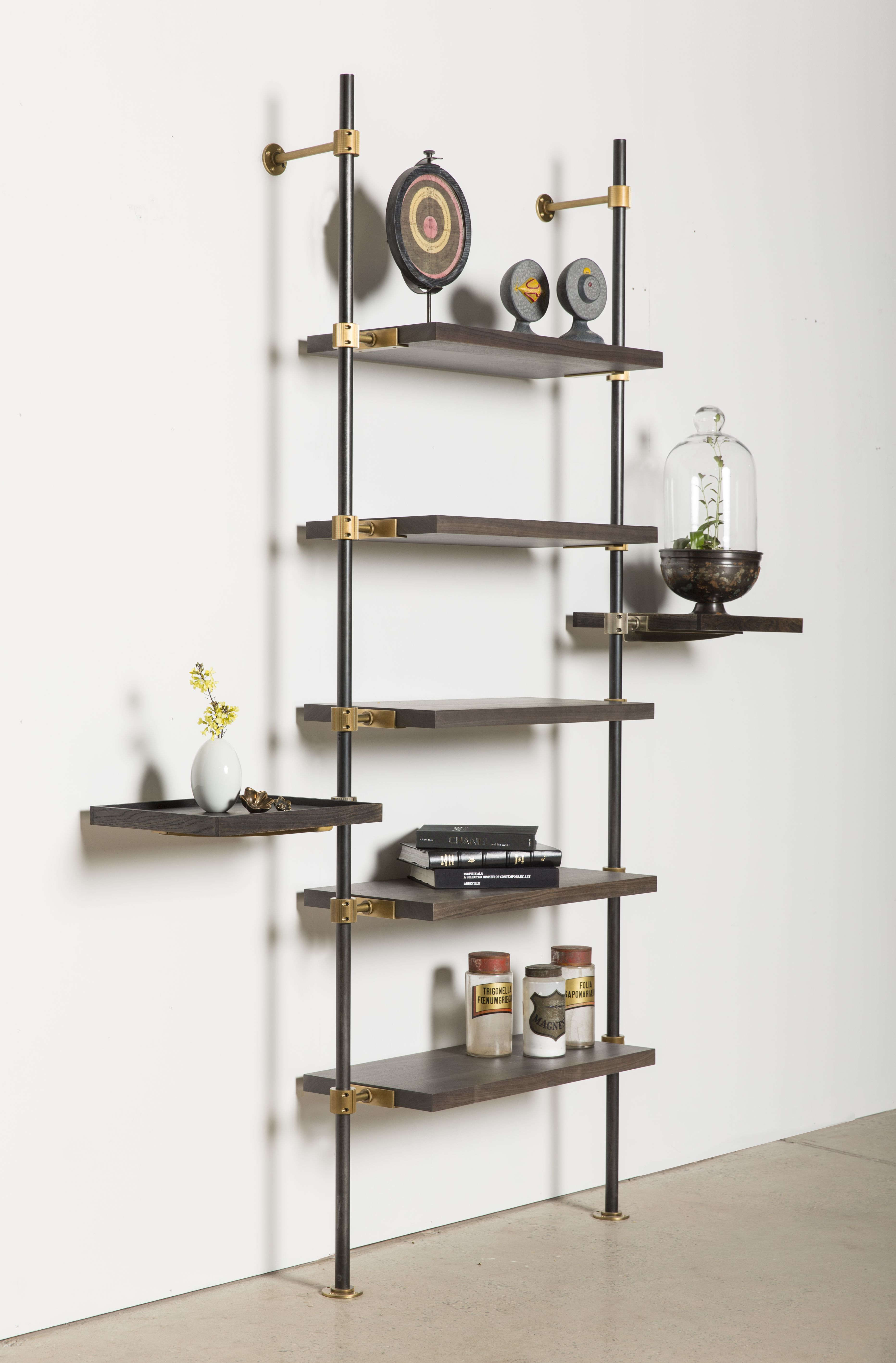Metal Industrial Inspired Shelving Completely Flexible And