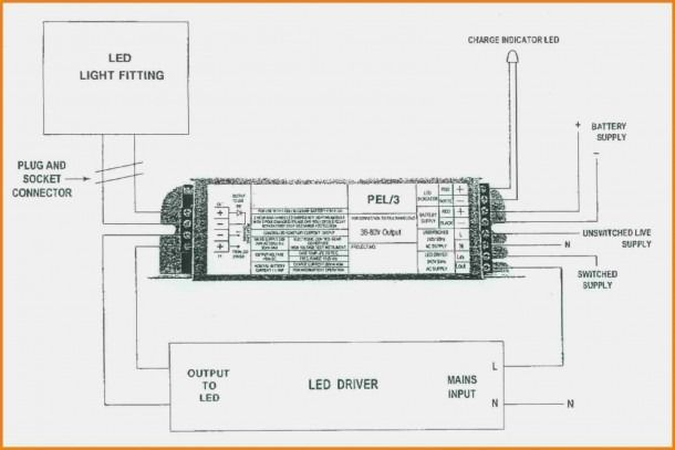 Non Maintained Emergency Lighting Wiring Diagram