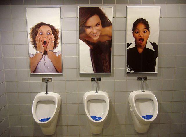 Men's bathroom in Etage building