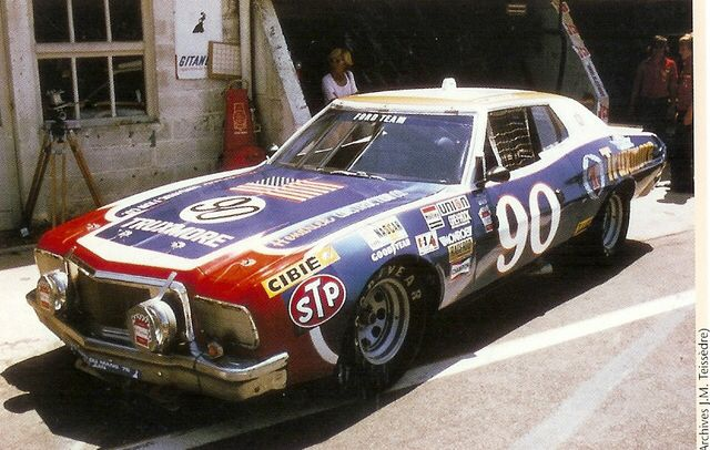 That Ford Gran Torino Raced At The 24 Heures Du Mans 1976 Ford Racing Ford Racing