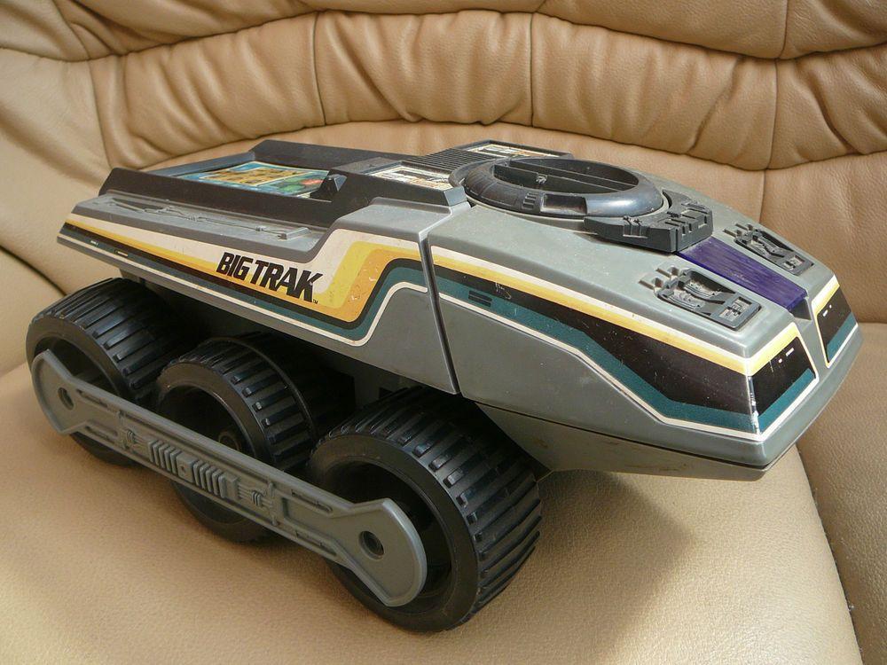 Original American grey Big Trak toy 1979