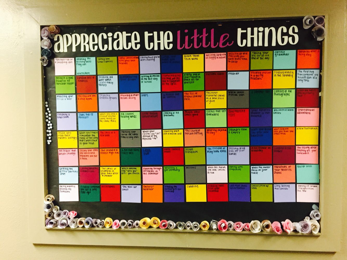 Dorm Bulletin Board Great For Encouraging Your Residents