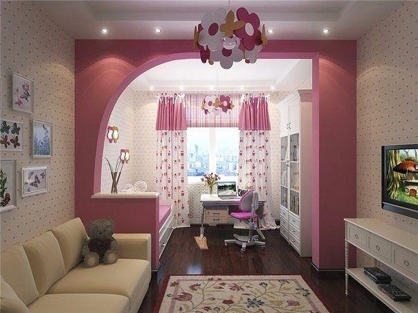 Детская и гостиная в одной комнате 30 фото, идеи дизайна и