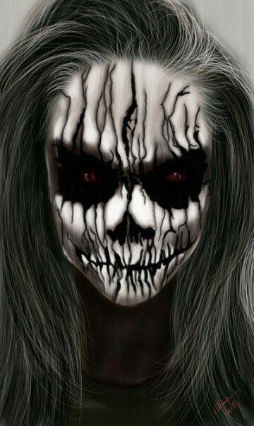 Pin by Kayla De Luen on Halloween ideas Pinterest Halloween - halloween horror makeup ideas