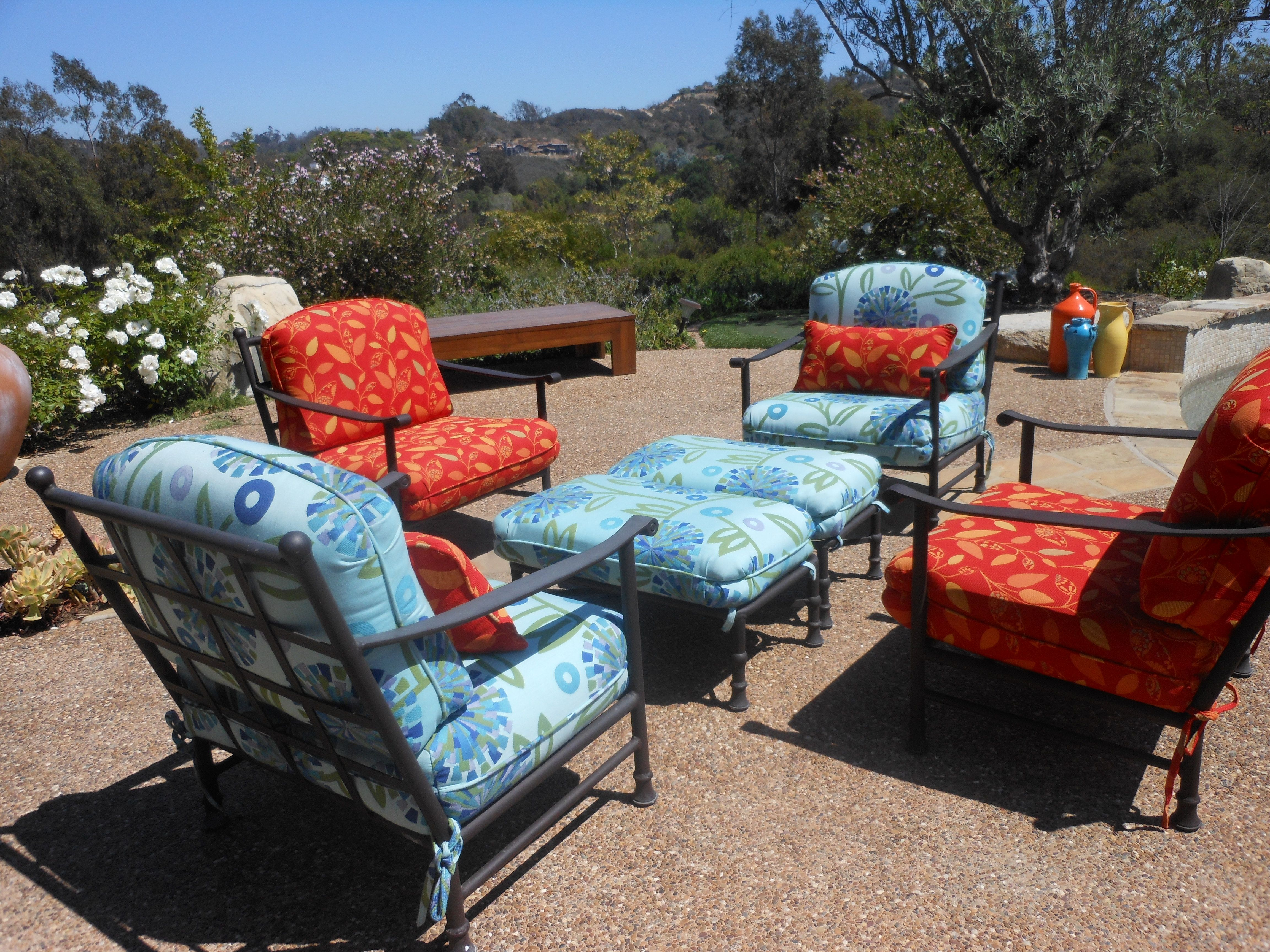 #recover #cushion #custom #sunbrella #patio #patioideas # ...