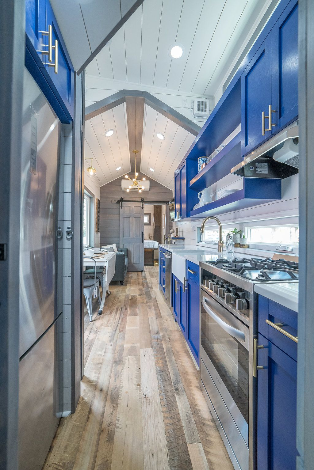 330 Sq Ft Henderson Tiny House On Wheels By Movable Roots Tiny House On Wheels Tiny House Living House On Wheels