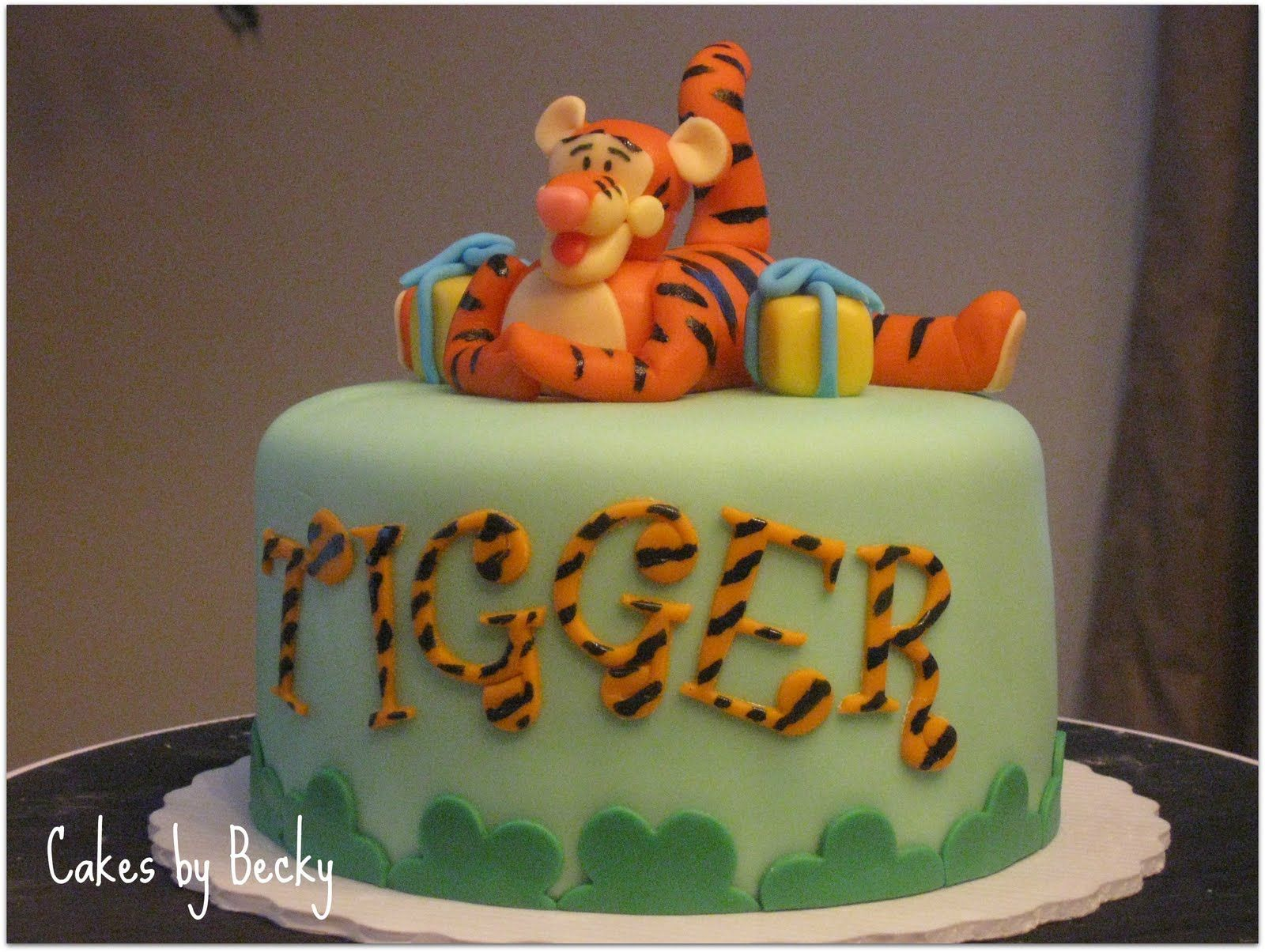 Tigger Baby Shower Cakes By Becky October 2017