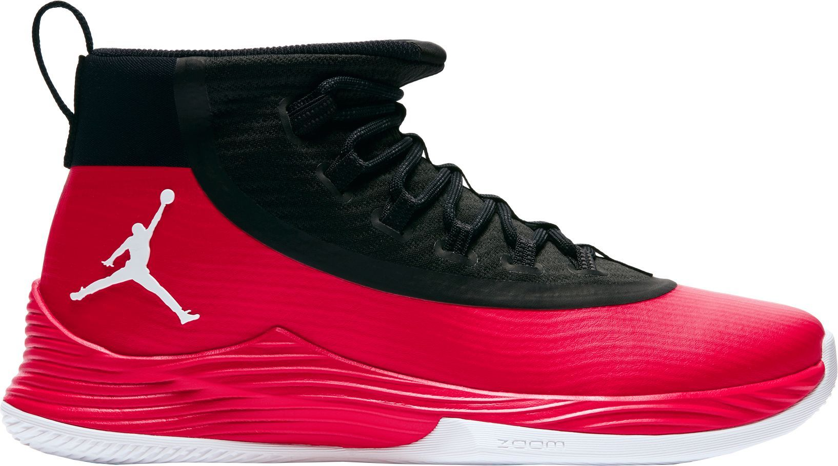 sale retailer 45c3d b20ae ... sale jordan mens ultra fly 2 basketball shoes size 11.0 red basketball  shoes 3667d 0193f