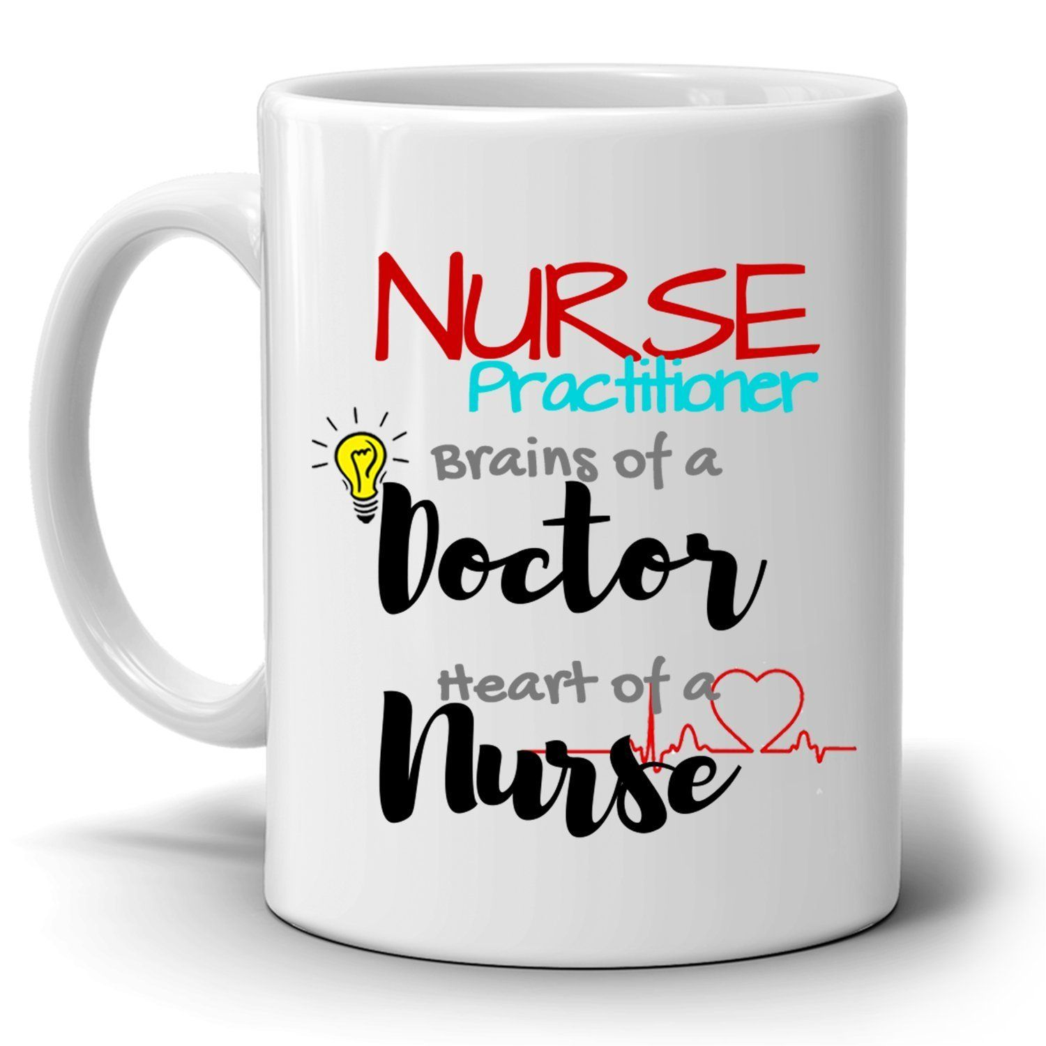 Fun nurse practitioner coffee mug a cool unique gift and