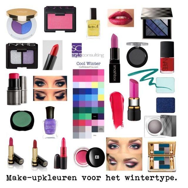 """""""Make-upkleuren voor het wintertype. Kleurenanalyse."""" by Margriet Roorda."""