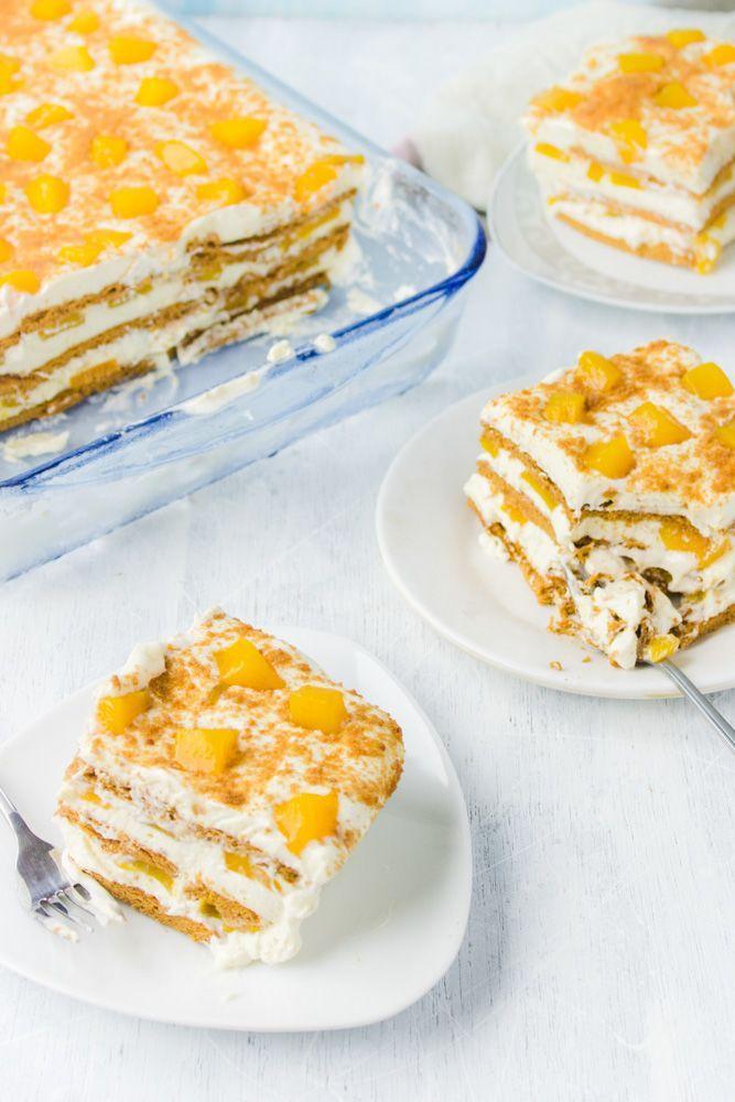Photo of Graham Mango Float – Filipino Dessert – Consider the Cupcake